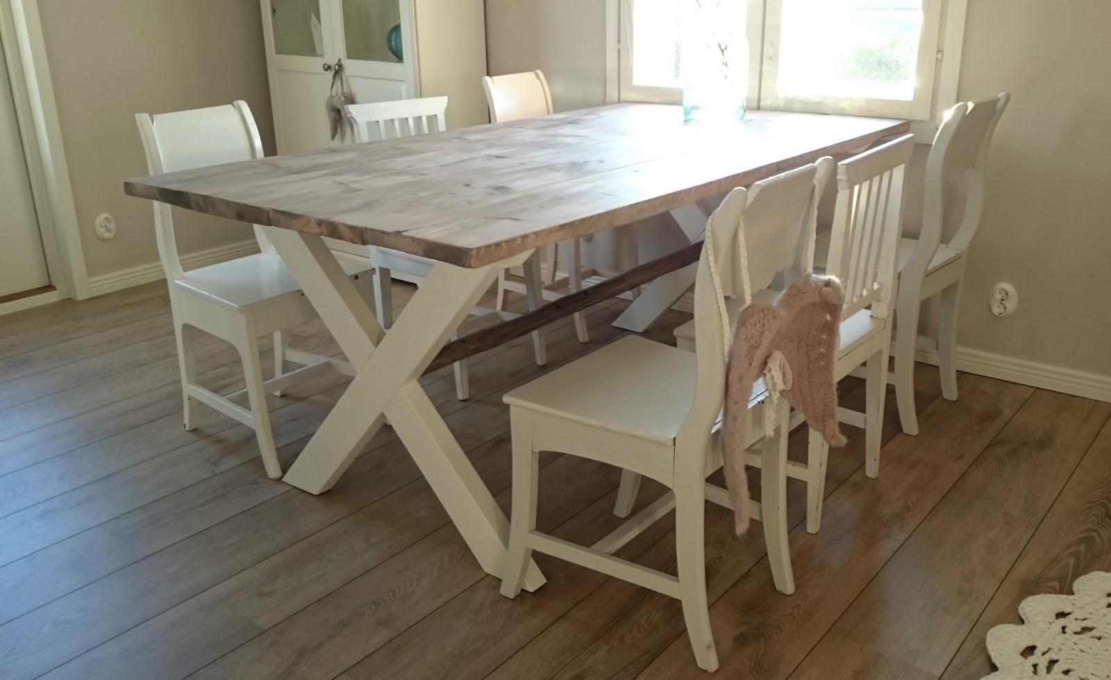 Keittiön pöytä lankuista – Koti ja villieläinten