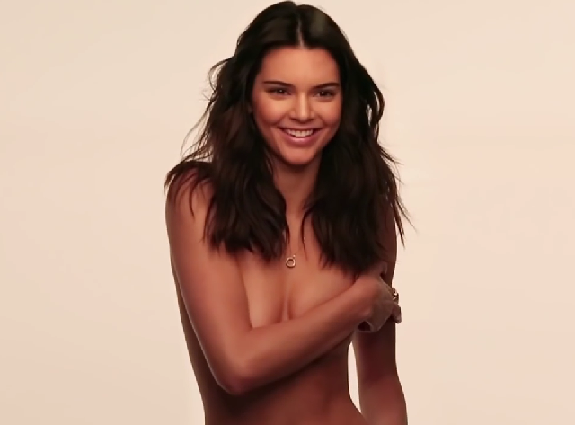 Kendall Jenner hace topless en GQ Magazine