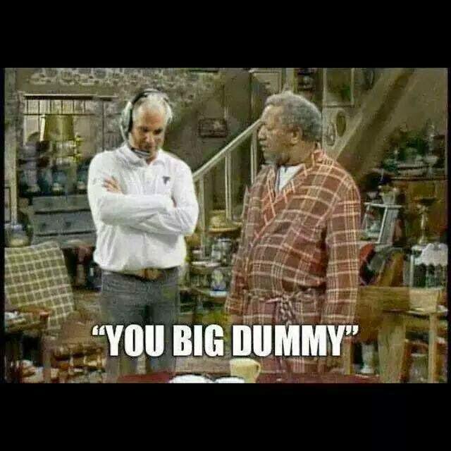 """""""you big dummy"""""""