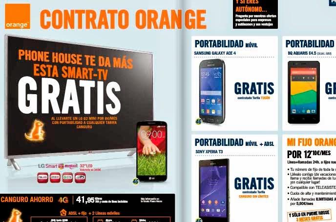Ofertas Orange en diciembre 2014