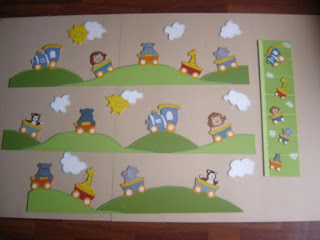Manualidades claudix cenefas para habitaciones y aulas for Manualidades decoracion infantil
