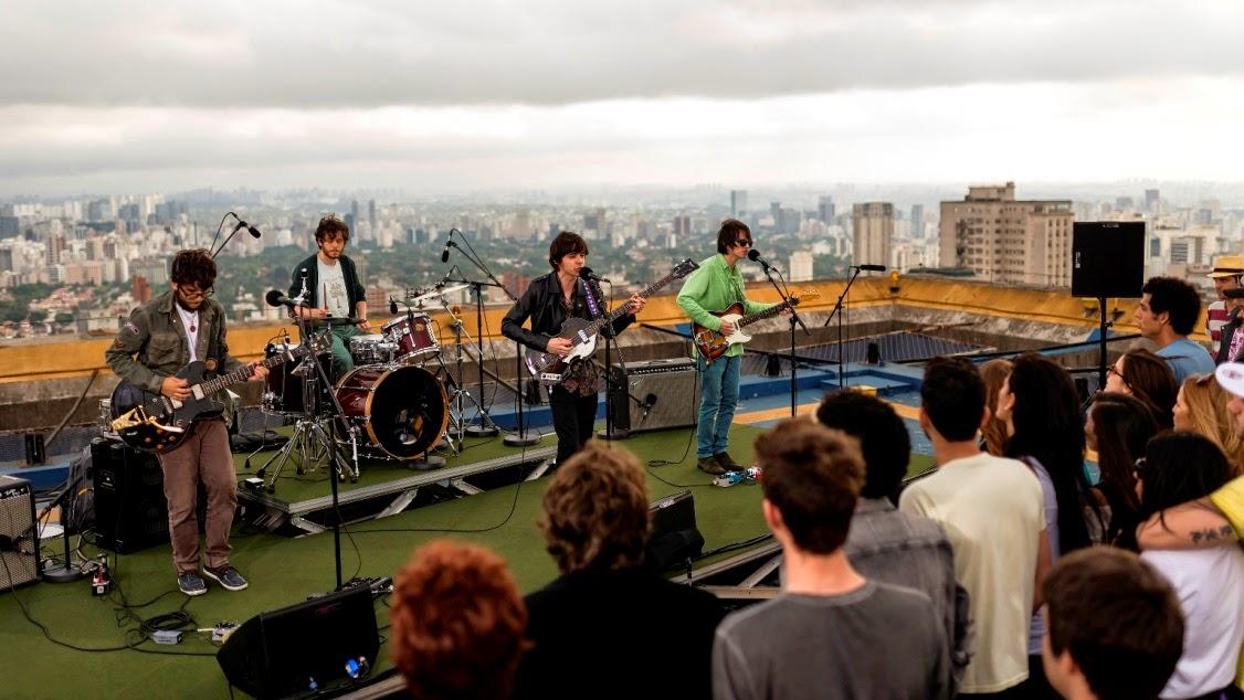Bandas se apresentarão para jurados no terraço do Hotel Tivoli - Divulgação