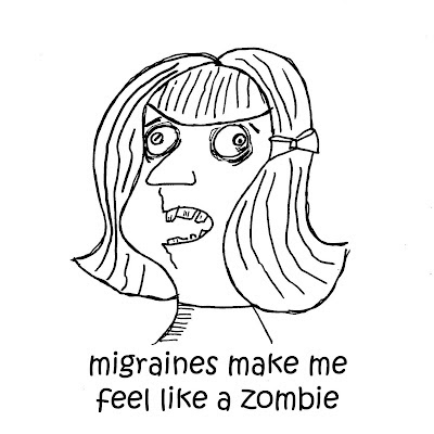migraiene%2Bzombie%2Bgirl 30 Days of Thanks, Day 19: Health