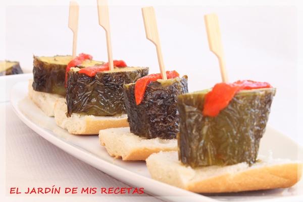 Pimientos italianos rellenos de tortilla el jard n de for Preparacion de jardines