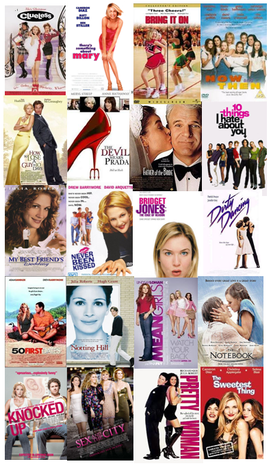 Old chick flick movies