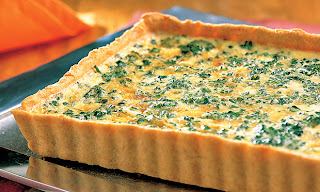 Quiche de brócolis light