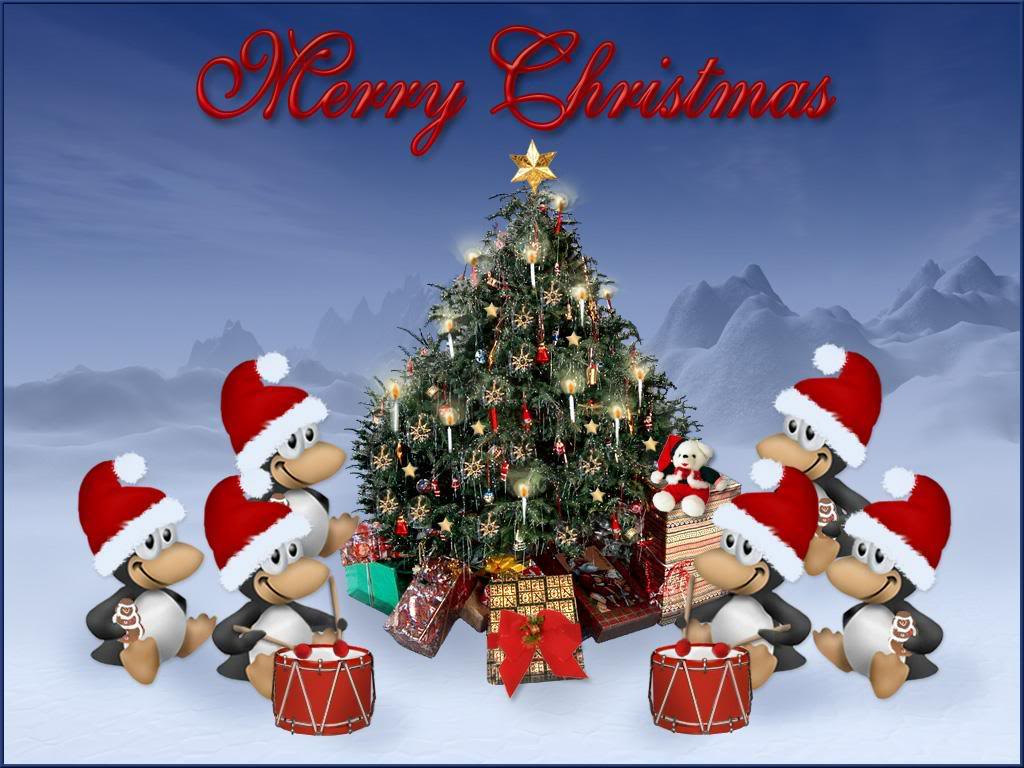 christmas santa claus holidays wallpapers computer ipads animated