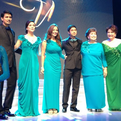Walang Hanggan cast - Richard Gomez, Dawn Zulueta, Coco Martin, Ms. Susan Roces, Ms. Helen Gamboa and Eula Valdez