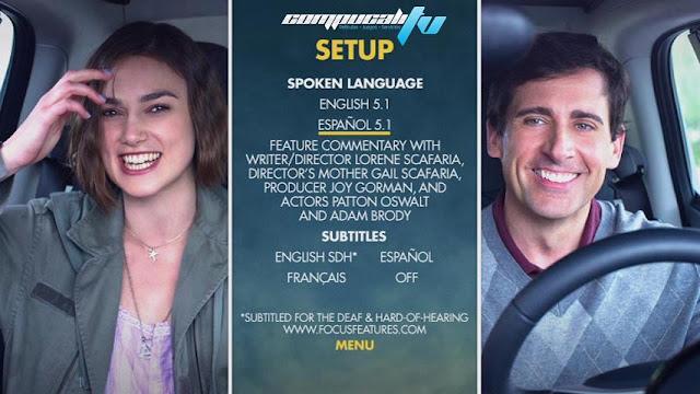 Seeking a Friend for the End of the World DVDR NTSC Español Latino Menú Full 2012