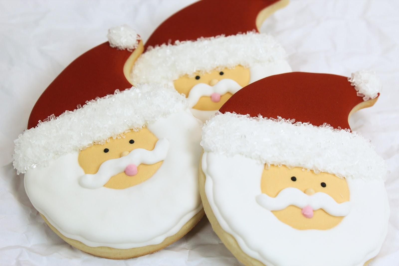 Baking In Heels Santa Claus Cookies