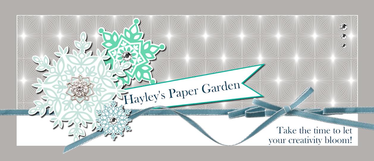 Hayley's Paper Garden