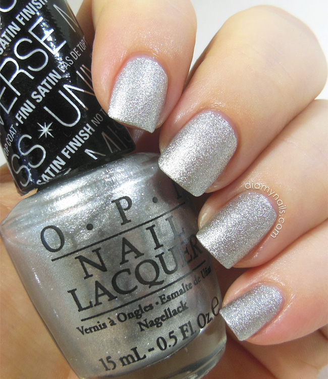 OPI This Gown Needs a Crown swatch