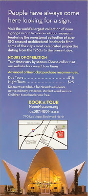 Neon Museum Brochure