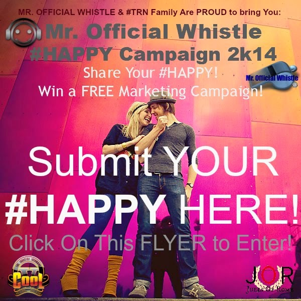 Mr Official Whistle #HAPPY Campaign 2K14