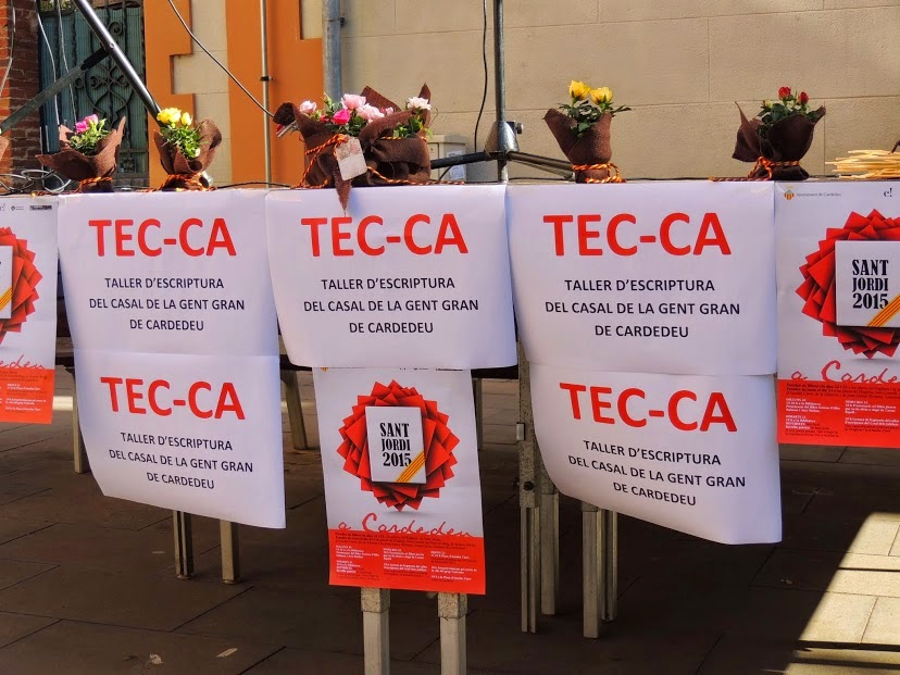 La Tec-ca per Sant Jordi 2015