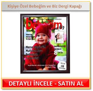 Kişiye Özel Bebeğim ve Biz Dergi Kapağı