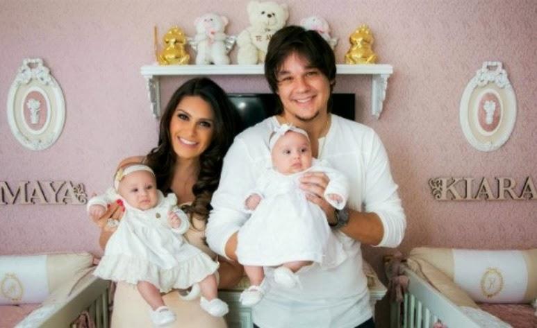Quarto das gêmeas de Natália Guimarães e Leandro
