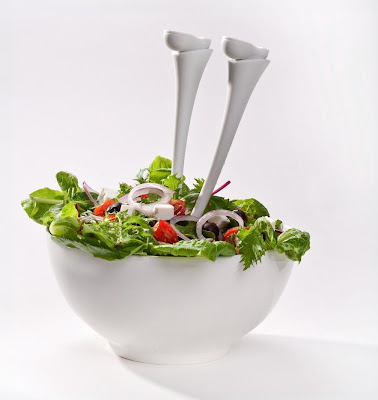 Cool Salad Bowls and Creative Salad Server Designs (15) 8