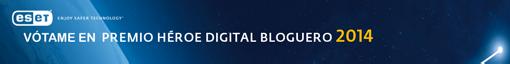 Vota en los Premios Héroe Digital 2014 de ESET