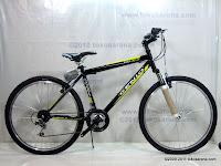 1 Sepeda Gunung Genio Soul Beat 18 Speed 26 Inci
