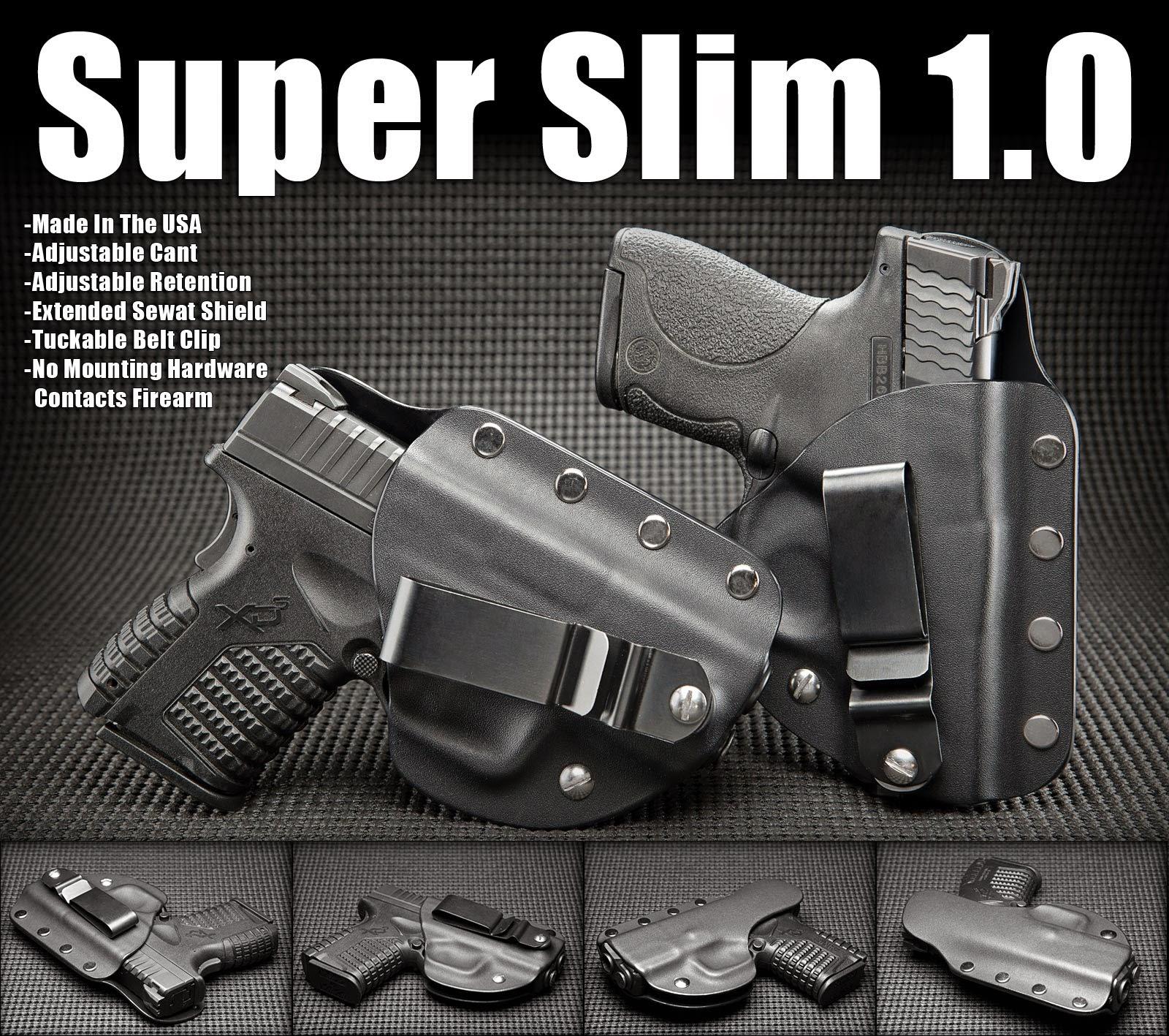 """Firearm"" ""1911 Sub-Compact, 3 Inch Barrel (no rail)"" ""1911 Commander, 4 Inch Barrel (no rail)"" ""1911 Full Size, 5 Inch Barrel (no rail)"" ""Beretta Nano""  ""Beretta PX4 Storm 9 & 40"" ""Beretta Tomcat 32ACP"" ""CZ 75 Compact (no rail)"" ""FNS 9&40"" ""FNX 9&40"" ""Glock 26,27,33"" ""Glock 36"" ""Glock 19,23,32"" ""Glock 17,22,31"" ""GLOCK 30s"" ""Glock 42"" ""H&K P30"" ""KAHR PM9"" ""KAHR PM9 W/CT"" ""KIMBER SOLO"" ""Ruger SR22"" ""RUGER SR9c"" ""Ruger SR40"" ""Ruger SR40c"" ""Ruger LCP"" ""Ruger LC9"" ""SIG P225"" ""SIG P226 W/RAILS"" ""SIG P229 W/RAILS"" ""SIG P238"" ""SIG P290"" ""SIG P938"" ""S&W Bodyguard 380"" ""S&W M&P Compact, 9,40"" ""S&W M&P Full Size 45"" ""S&W Shield 9 & 40"" ""S&W Shield 9 & 40 with LaserMax (+9.95)"" ""SPRINGFIELD XD9 & XD40"" ""SPRINGFIELD XDm9 & XDm40"" ""SPRINGFIELD XDm 3.8 40"" ""SPRINGFIELD XDs3.3, 9 & 45"" ""TAURUS MILLENNIUM PRO140"" ""Taurus PT111, PT140"" ""**************************************************"" ""* * * Long-Lead Items 3-4 Week Turn Around * * *"" ""Beretta 92D Centurion (+19.95)*"" ""Beretta Cougar(+19.95)*"" ""Beretta M9/92F(+19.95)"" ""Beretta 90 TWO(+19.95)*"" ""Beretta PX4 Storm 45ACP(+19.95)*"" ""Beretta Vertec(+19.95)*"" ""Bersa Thunder 380(+19.95)*"" ""Bersa Thunder 45(+19.95)*"" ""Browning Hi-Power(+19.95)*"" ""CZ 75(+19.95)*"" ""CZ 75 Phantom(+19.95)*"" ""CZ 75 P-07(+19.95)*"" ""Diamondback DB380 (19.95)*"" ""FNH Five-Seven(+19.95)*"" ""FNX45 TACTICAL (+19.95)*"" ""GLOCK 17/22/31 w/M3 (+19.95)*"" ""GLOCK 17/22/31 w/M5 (+19.95)*"" ""GLOCK 17/22/31 w/Glock Light (+19.95)*"" ""GLOCK 17/22/31 w/TLR1 (+19.95)*"" ""GLOCK 19/23/32 w/M5 (+19.95)*"" ""GLOCK 20,21 (+19.95)*"" ""GLOCK 21SF (+19.95)*"" ""GLOCK 30(+19.95)*"" ""GLOCK 34/35 (+19.95)*"" ""GLOCK 37 (+19.95)*"" ""H&K P2000 Compact (+19.95)*"" ""H&K USP 9MM (+19.95)*"" ""H&K USP 9MM w/X300 (+19.95)*"" ""H&K USP 9MM COMPACT*"" ""H&K USP.45 (+19.95)*"" ""H&K HK45 COMPACT(+19.95)*"" ""H&K MARK 23 SOCOM (+19.95)*"" ""H&K P2000 US Version(+19.95)*"" ""H&K P2000 European Version(+19.95)*"" ""H&K P7M8(+19.95)*"" ""KAHR P380(+19.95)*"" ""KAHR P380 w/CT(+19.95)*"" ""KAHR PM45(+19.95)*"" ""KAHR CW45(+19.95)*"" ""KELTEC P3"
