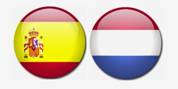 España 1 - 5 Holanda. Grupo B. Jornada 1. ¡Qué vergüenza!