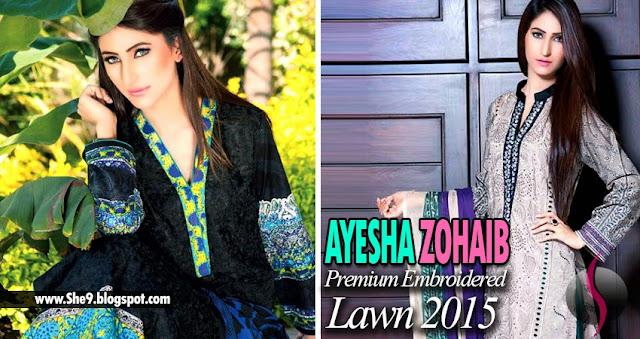 Ayesha Zohaib Premium Lawn Designs