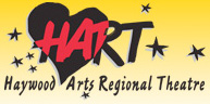 Haywood Arts Regional Theater logo