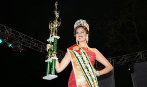BRENDA MIELES PINCAY, Reina de Manabí 2013