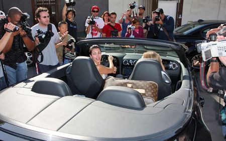 Kardashian  on Kim Kardashian Takes His New Ferrari   Kim Kardashian   Zimbio