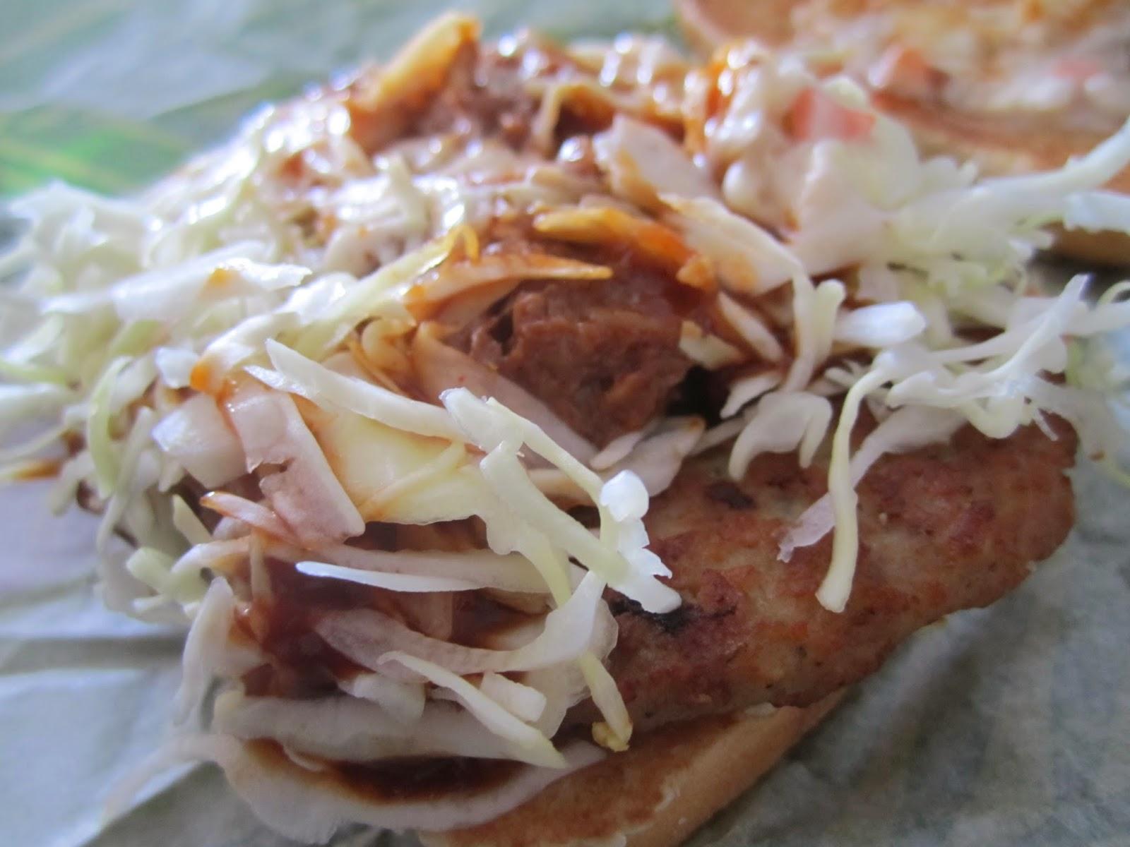 McDonald's Hawaiian BBQ Pork Burger マクドナルド ハワイアンバーベキューポークバーガー