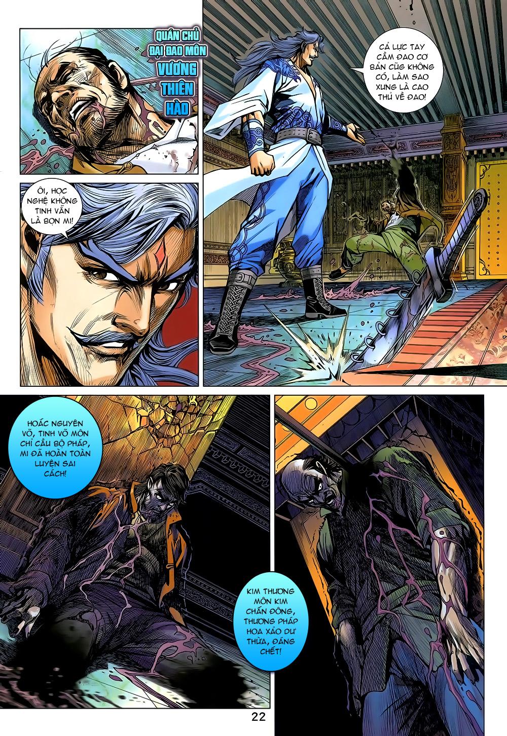 Tân Tác Long Hổ Môn chap 800 Trang 22 - Mangak.info