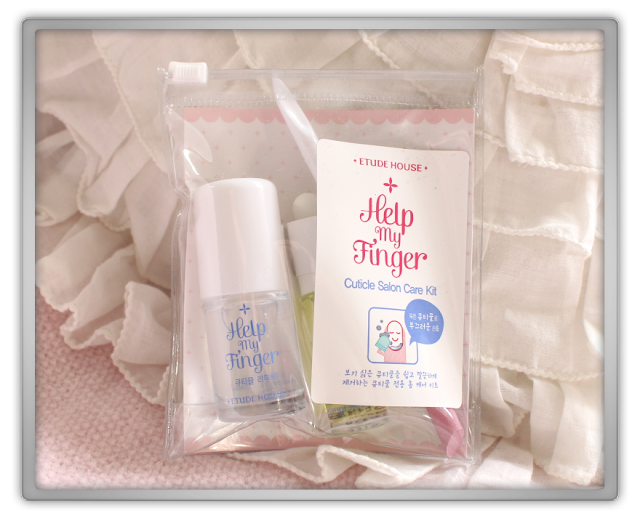 KPOPTOWN Etude House Haul Review kpop etude house beauty blog blogger Help My Finger Cuticle Salon Care Kit