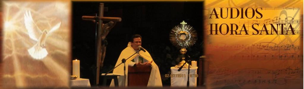 Audios Hora Santa-Padre Pedro Justo Berrío
