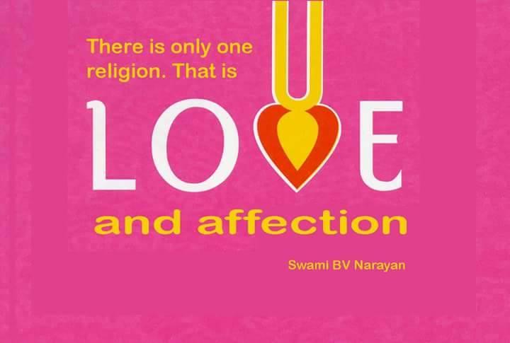 Es gibt nur 1 Religion, das ist
