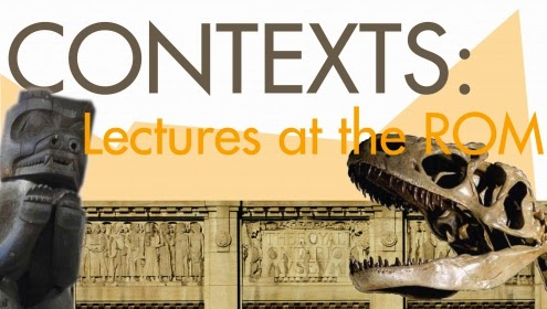Promo poster for Contexts: Lectures at the ROM