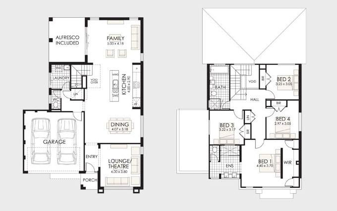 dise o y planos de casas de dos pisos con ideas para On disenos y planos de casas de dos pisos