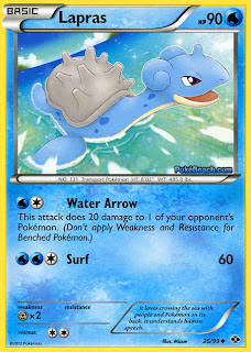 Lapras Next Destinies Pokemon Card