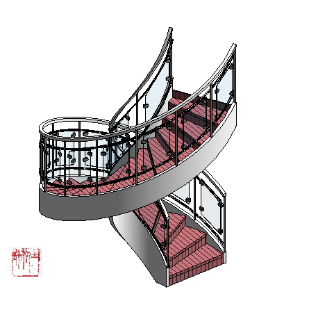 how to add custom stairs in revit