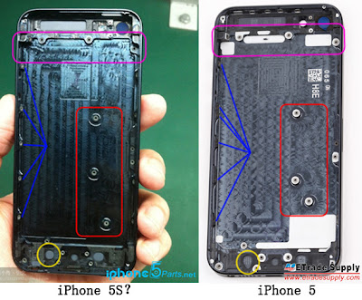 iphone 5s leaked pics different layout