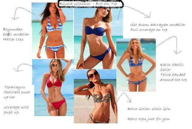 büyük göğüsler için bikini modelleri