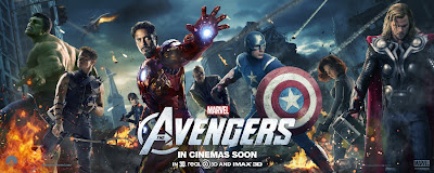 The Avengers International Movie Banners - Hulk, Hawkeye, Maria Hill, Iron Man, Nick Fury, Captain America, Black Widow & Thor