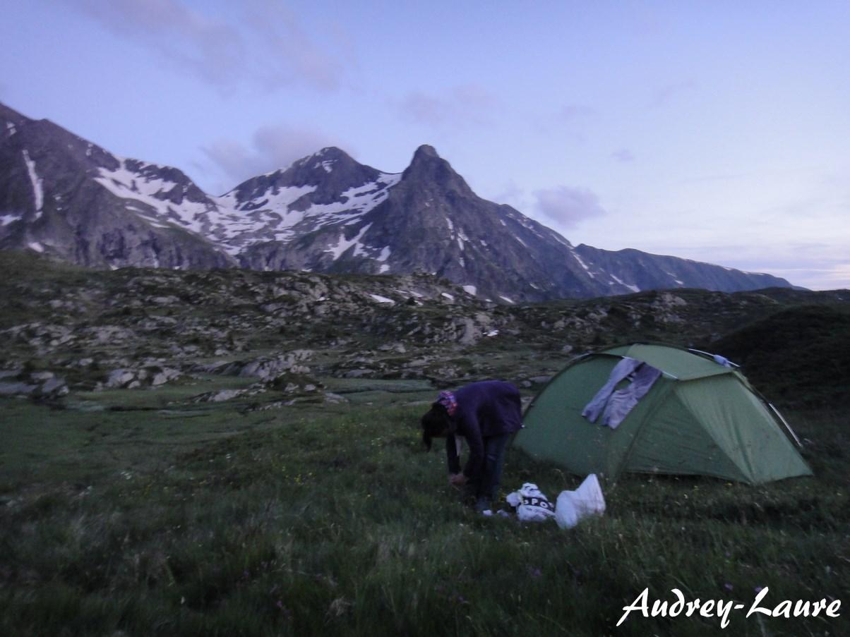 camping sauvage lac fourchu