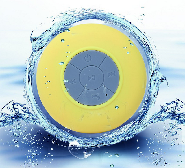 Altavoz impermeable para la ducha