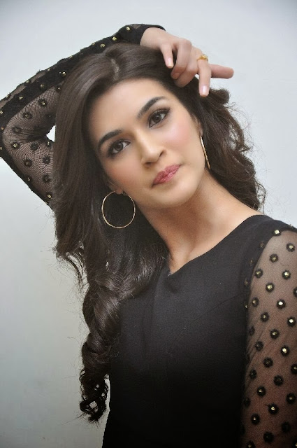 Kriti Sanon Photo Gallery in Black Dress