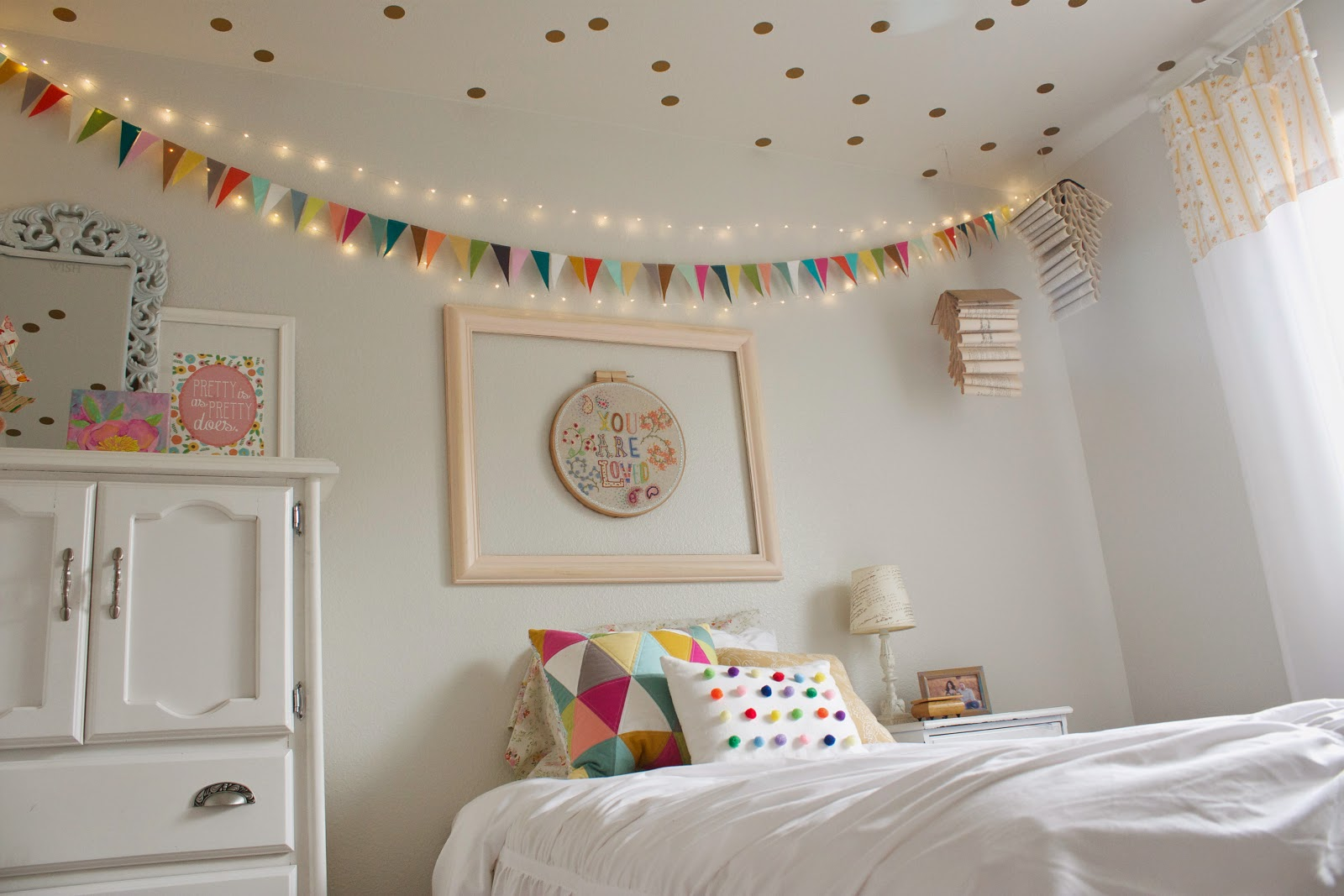 Heart Hope And A Future Rainbow Sprinkles A Fresh Bedroom For Our Sweet Pea