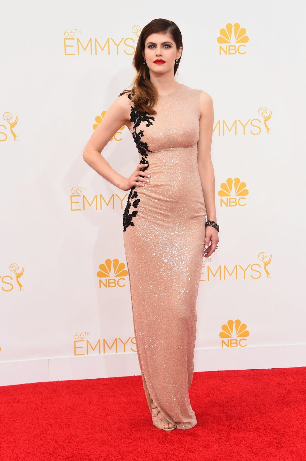 Alexandra Daddario – 2014 Primetime Emmy Awards in Los Angeles