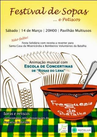 Festival de Sopas Solidário da Freguesia da Batalha