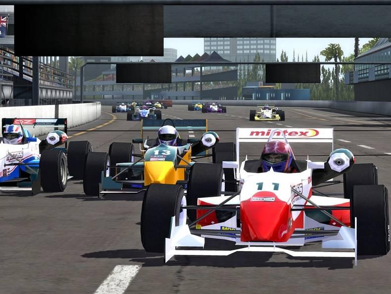 F1 Yarış Kariyer Yapma Oyunu