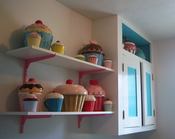 Cupcake Themed Kitchen